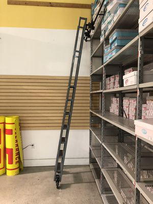 Ladders rolling ladders$100.00 for Sale in West Covina, CA