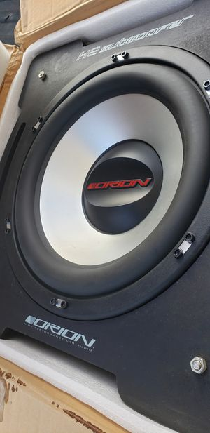 """Orion H2 15"""" Sub subwoofer New In Box for Sale in Roswell, GA"""