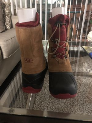 UGG brown boots brand new with box size 3 for Sale in Riverside, CA