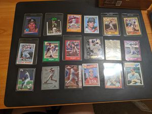 MAKE OFFER Lot 53 Baseball Cards Including Barry Bonds, Jose Canseco Excellent for Sale in Winchester, CA