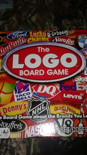 The Logo Board Game, The Brand game for Sale in Avon Park, FL