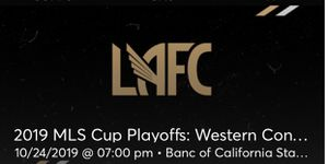 LAFC vs LA Galaxy for Sale in Torrance, CA