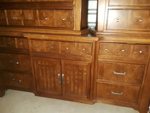 Dresser, Mirror, Chest of Drawers, two Nightstands for Sale in Washington, DC