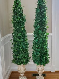 2 Artificial Topiaries for Sale in Mount Laurel Township,  NJ