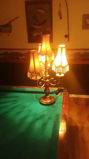 Beautiful Decorative Lamp With Beaded Lamp Shades for Sale in Broadview Heights, OH