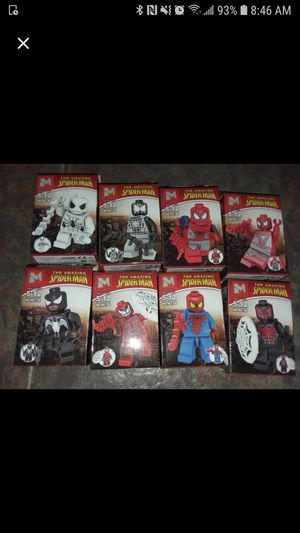 Spiderman lego minifigures for Sale in Davenport, FL