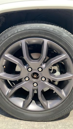 """20"""" Jeep rims and tires 5x127 5x5 for Sale in Las Vegas, NV"""