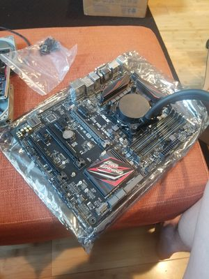 i5 6500 + Asus Z170 Pro Gaming Mobo + AIO cooler for Sale in East Liberty, PA