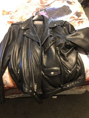 Men's leather jacket size 2x for Sale in Peoria, IL