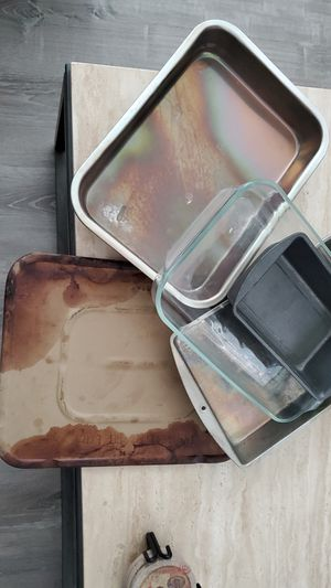 Pans and cooking stone for Sale in Brentwood, CA