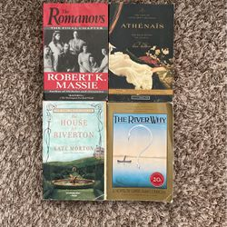 4 Books, Historical Classics For Sale! for Sale in Dickinson,  TX