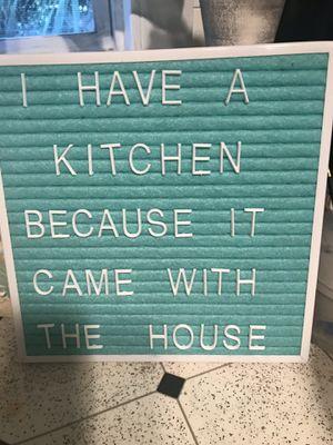 Kitchen cute sign for Sale in Saint Petersburg, FL