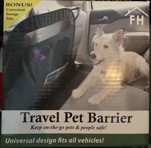 Travel pet barrier for car for Sale in Phoenix, AZ