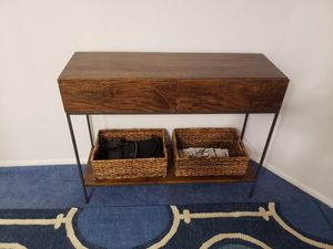 West Elm Industrial Storage Console Table Credenza for Sale in Edison, NJ