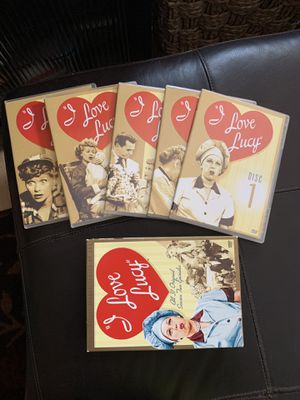 I Love Lucy 5 Disc Collection Season 2 and a bonus DVD for Sale in Aurora, IL