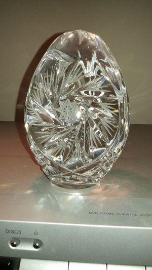"Solid Crystal ""Egg"" (collector item) for Sale in Jacksonville, FL"