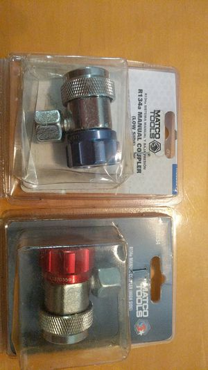 Matco R134a High and Low side couplers for Sale for sale  Wellington, FL