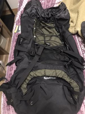 Teton Scout3400 55 liter hiking backpack for Sale in Tacoma, WA