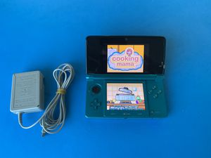 Nintendo 3DS Handheld Video Game Console - Aqua Blue for Sale in Buena Park, CA