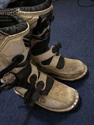 Fly racing motocross boots for Sale in Visalia, CA