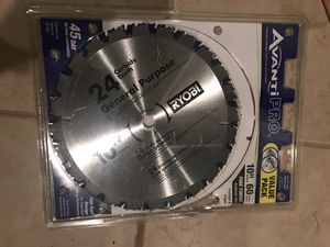 10 in x 60 Tooth Fine Finish Saw Blade for Sale in Vienna, VA