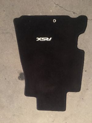 02-06 Acura Rsx Front Driver Mat $25 Firm Oem Honda Part for Sale in Whittier, CA