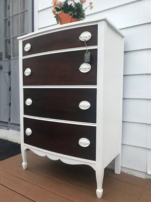 Gorgeous Voluptuous Vintage Farmhouse Chest Of Drawers for Sale in East Greenwich, RI