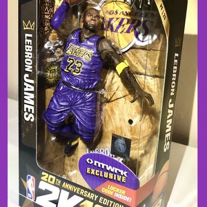 Lebron James NBA LA Lakers McFarlane Toys Figure Rare for Sale in Cerritos, CA