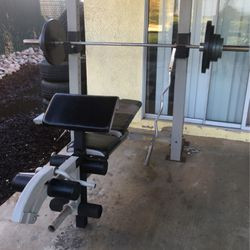 Olympic Size Golds Gym Weight Bench for Sale in Riverside,  CA
