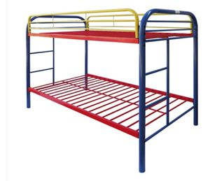 Twin over twin bunk bed in good condition. for Sale in Plano, TX