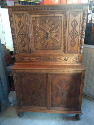 Antique Buffet Hutch for Sale in Corona, CA