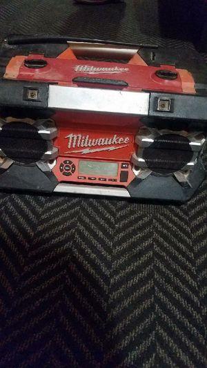 Milwaukee Jobsite portable radio for Sale in El Cajon, CA