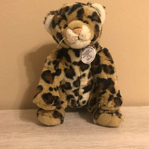 Build-a-Bear Workshop 2003 WWF Cheetah/Leopard Collectibear for Sale in Pearland, TX