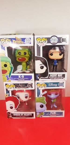 funko pop vinyl figures COLLECTIBLE $35 for all for Sale in Houston, TX