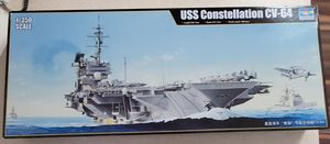 Used, USS Constellation CV-64 Aircraft Carrier Model Kit for Sale for sale  Cape Coral, FL