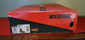 Wolverine Guardian 8 Inch Safety Toe Work Boot W02294 for Sale in Pittsburgh, PA