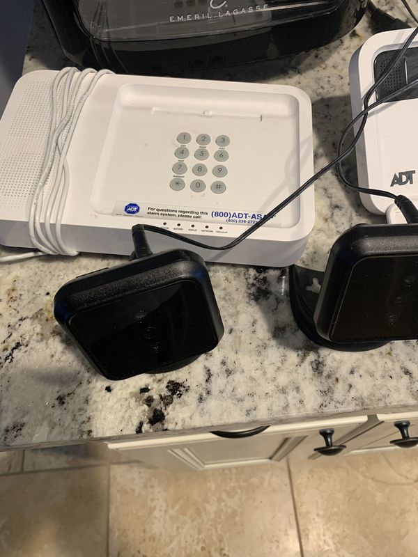 Adt security system with three cameras