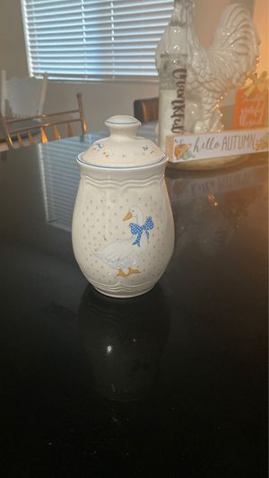 Vintage Goose sugar jar for Sale in Hesperia, CA