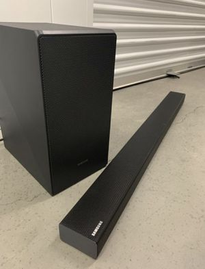 SAMSUNG 3.1 Channel 340W Soundbar System with Subwoofer - HW-N550/ZA for Sale in Chula Vista, CA