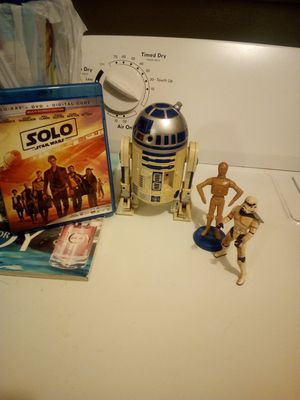 Star war toys and blue ray DVD for Sale in Newport, AR