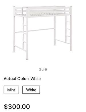 Manor Park Premium white loft bed for Sale in Medina, OH