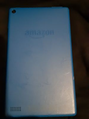 Amazon fire tablet 7' back has a few streaks but screen is absolutely perfect not one scratch $33 for Sale in Orlando, FL