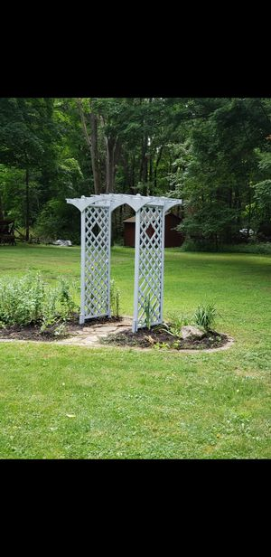 Painted Arbor for Sale in Webster, NY