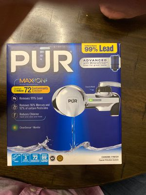 Pur max ion Advanced for Sale in Spring, TX