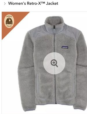 Patagonia Retro-X Jacket DEEP PILE SHERPA Feather Grey, Size Small, *BNWOT* for Sale in Cambridge, MA