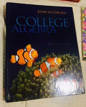College Algebra 2nd EDT John W.Coburn for Sale in Sanford, ME
