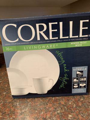 Corelle Durable Vitrelle Dinnerware for Sale in Portland, OR