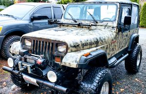 Jeep Wrangler YJ Lifted. Trade??? for Sale in Lake Stevens, WA