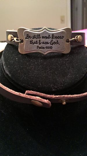 Scripture wrap bracelet for Sale in Savannah, GA