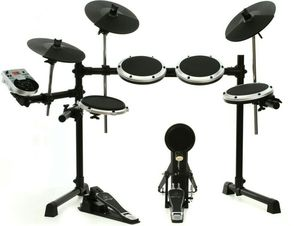 High-Performance 8-Piece Electric Drum Set with 175 sounds, 15 Drum Sets, LCD Display and USB/MIDI Interface for Sale in Burien, WA